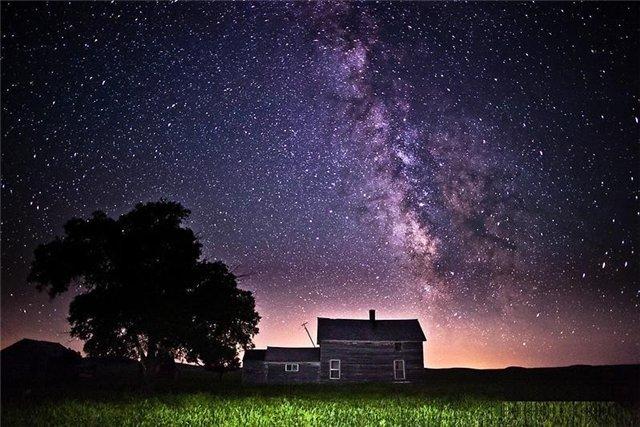 Млечный путь в ночном небе6 (640x427, 240Kb)