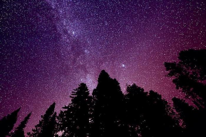 Млечный путь в ночном небе9 (700x466, 352Kb)