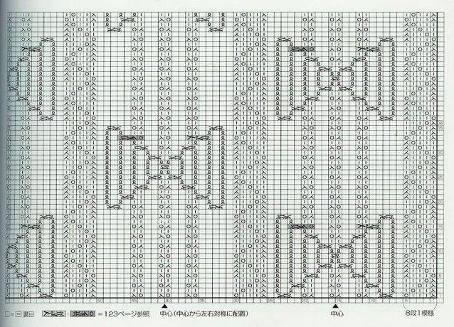 Вязание узор каракуль 13