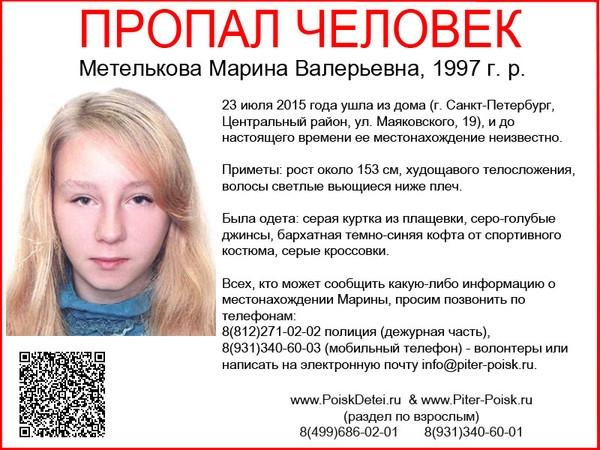 Метелькова Марина Валерьевна, 1997 г. р. (600x450, 186Kb)