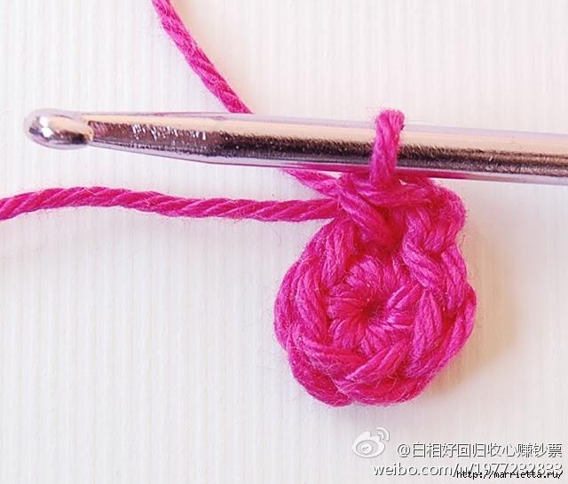 Вязание крючком. Мотив с медвежатами (27) (640x546, 167Kb)