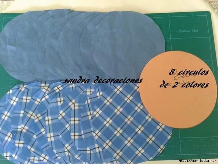 Лоскутное шитье. Подушка с цветком (7) (700x525, 227Kb)