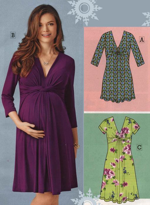 Как сшить летнее платье для беременной 33