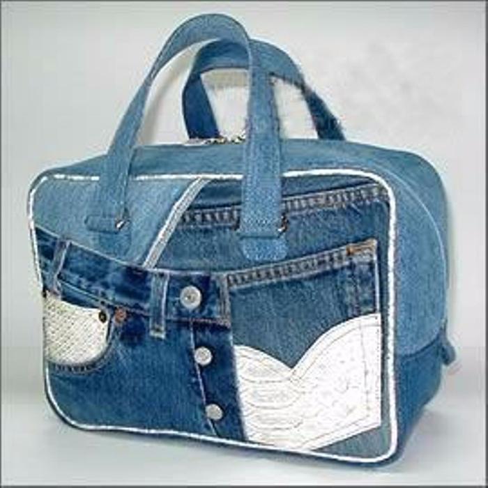 старых джинсов своими из руками сделать сумка
