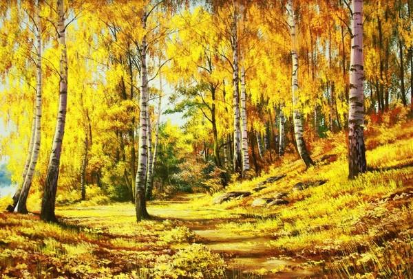 картинка лес точно терем расписной