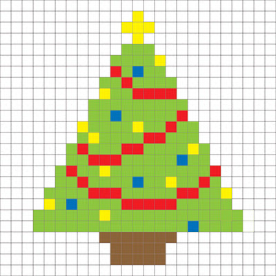 ChristmasTreePixel (400x400, 130Kb)