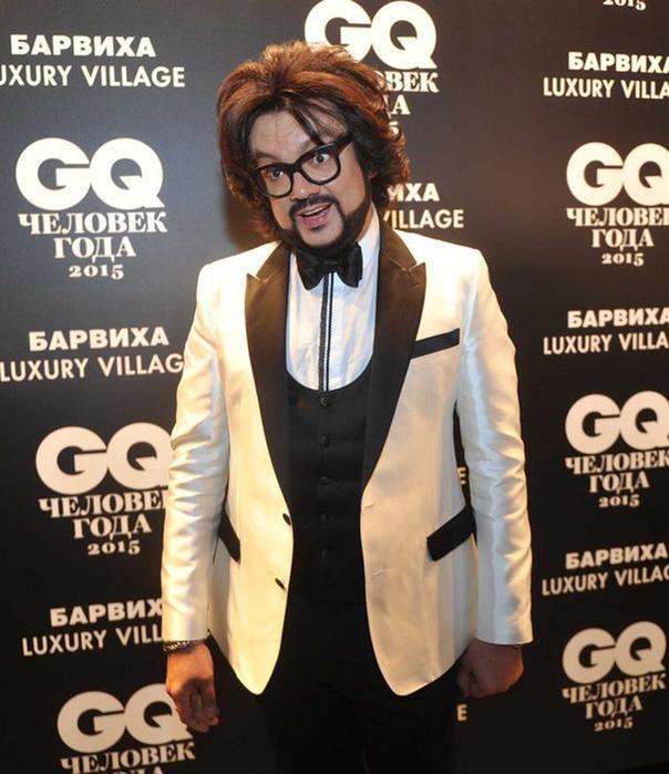 Фотографии знаменитостей на награждении премией GQ 2015 года