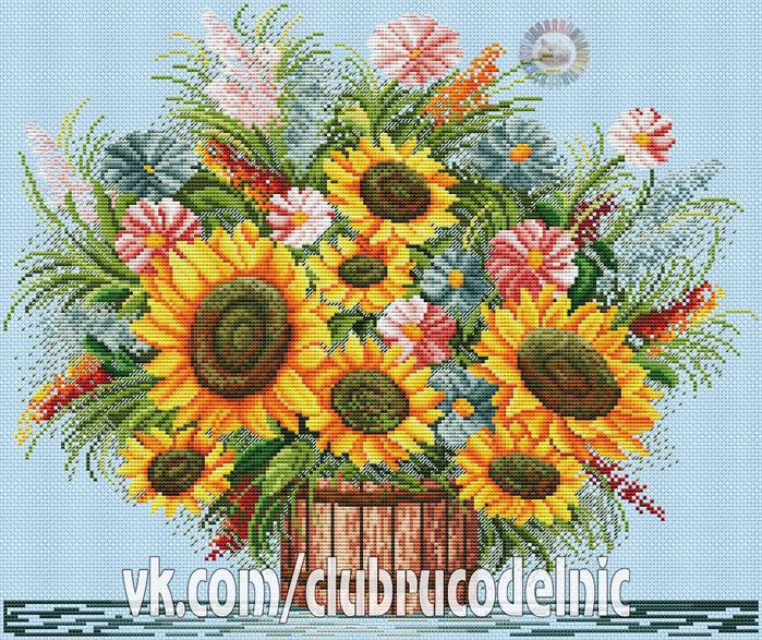 Sunflowers (700x587, 817Kb)