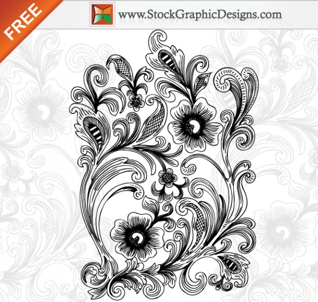 beautiful-decorative-floral-free-vector-illustration_25-15253 (626x594, 272Kb)