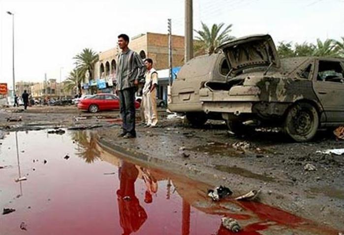 Взрыв на футболе в Ираке, город Нахраван