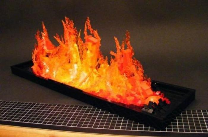 Огонь в камине из Лего (8 потрясающих фото)
