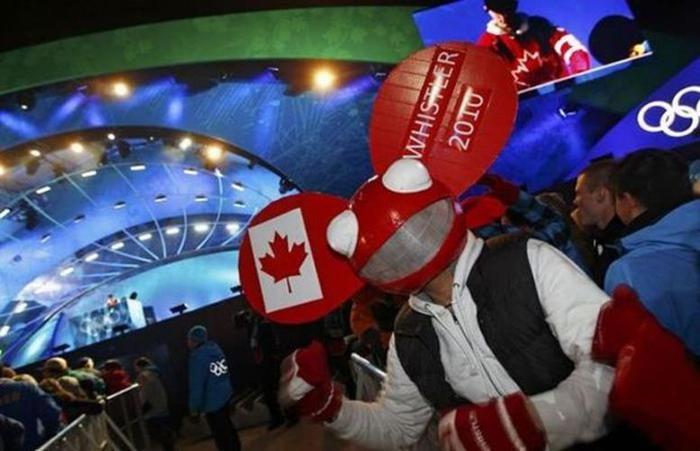 Канада. Фанаты на Олимпиаде в Ванкувере (37 веселых фото)