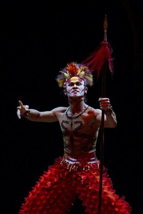Цирк дю Солей в Каракасе, Венесуэла