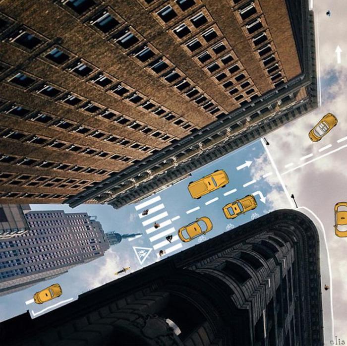Нью Йорк в иллюстрациях Элишка Подзимкова
