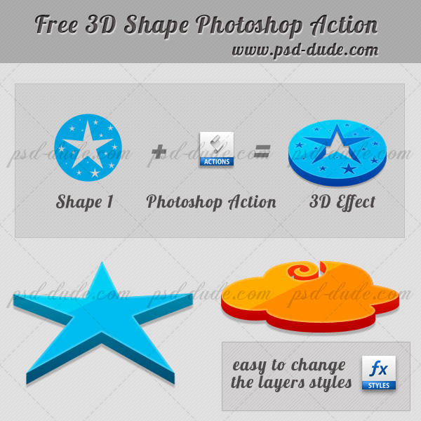 3D Photoshop Action (600x600, 303Kb)
