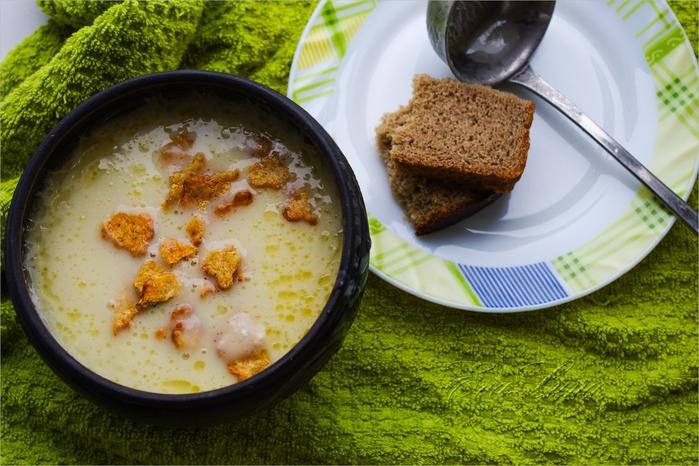 Кабачковый суп-пюре - кулинарный рецепт