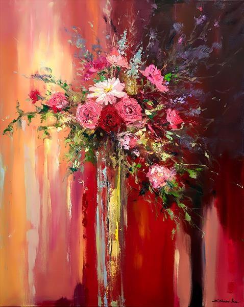 Blushing Roses (478x600, 275Kb)