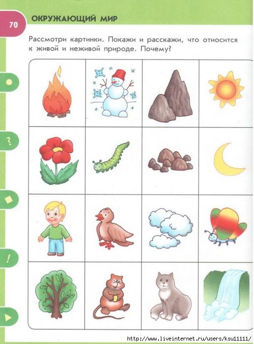 развивающие картинки природы для детей