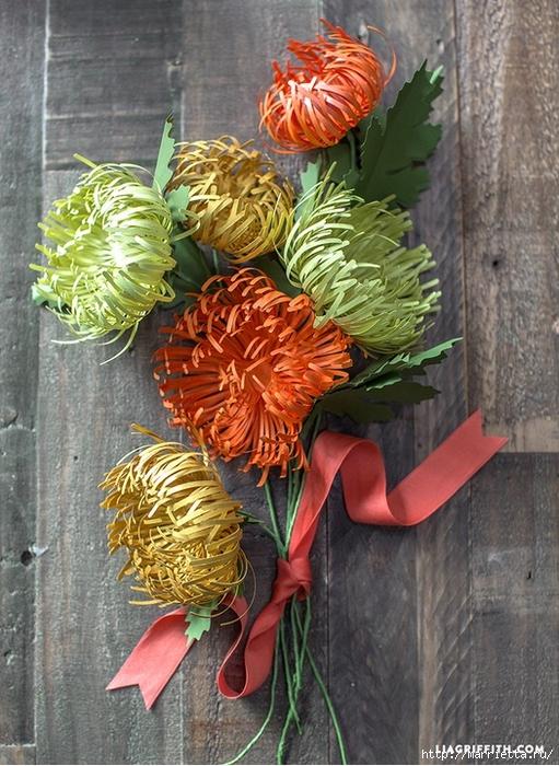 Хризантемы из цветной бумаги (1) (511x700, 336Kb)