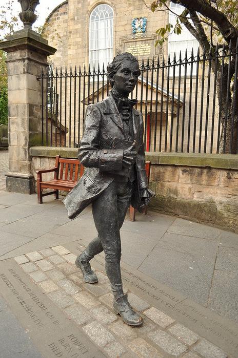 Эдинбург Роберт Бёрнс (464x700, 161Kb)