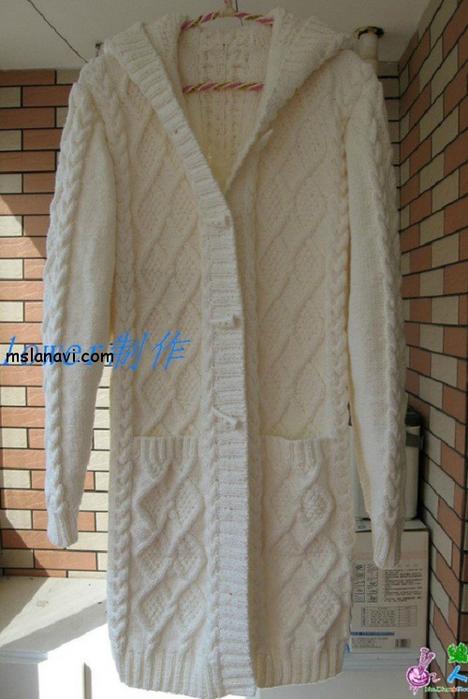 пальто-спицами-с-капюшоном (468x700, 332Kb)