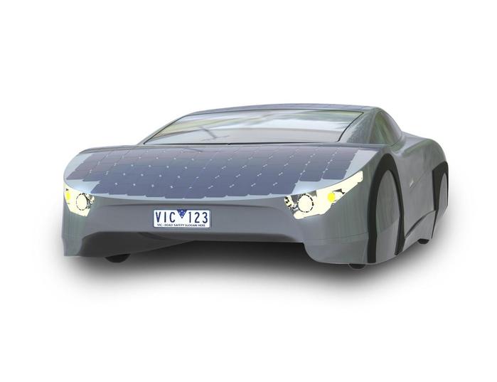 автомобиль на солнечной энергии Immortus EVX Ventures 2 (700x537, 104Kb)