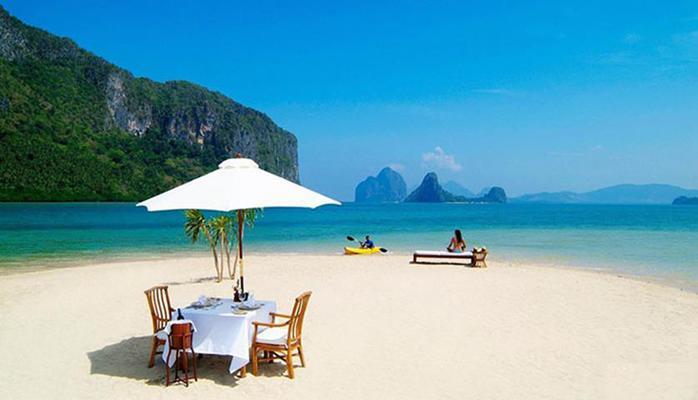 Фотографии удивительно красивых пляжей с белым песком