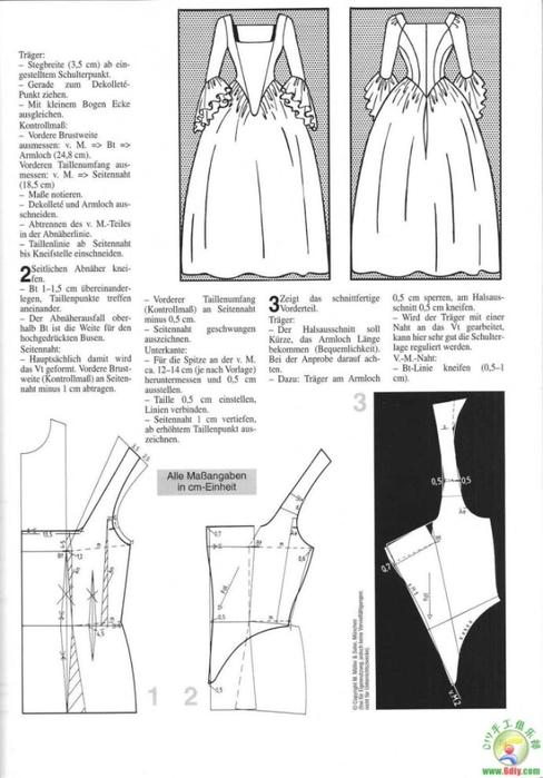 Как сшить платье 18 века выкройки 53