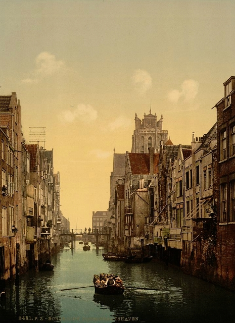 Voorstraatshaven, Дордрехт (465x640, 253Kb)
