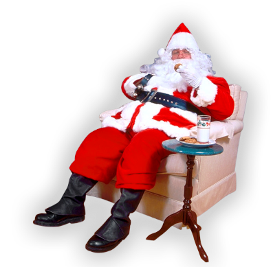 3996605_Santa_pet_moloko (397x389, 191Kb)