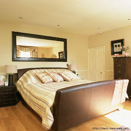 Спальня с кожаными элементами. спальня, дизайн, дизайн спальни, оформление спальни, дизайн интерьера...