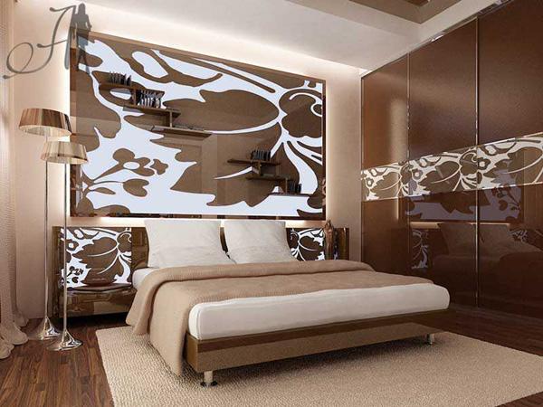 Спальни ар-деко и гламура достаточно сильно отличаются.  Первые