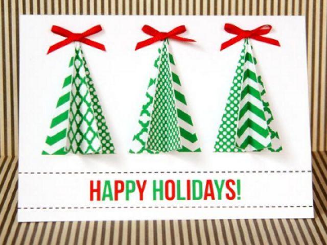 Новогодние объемные открытки своими руками шаблоны