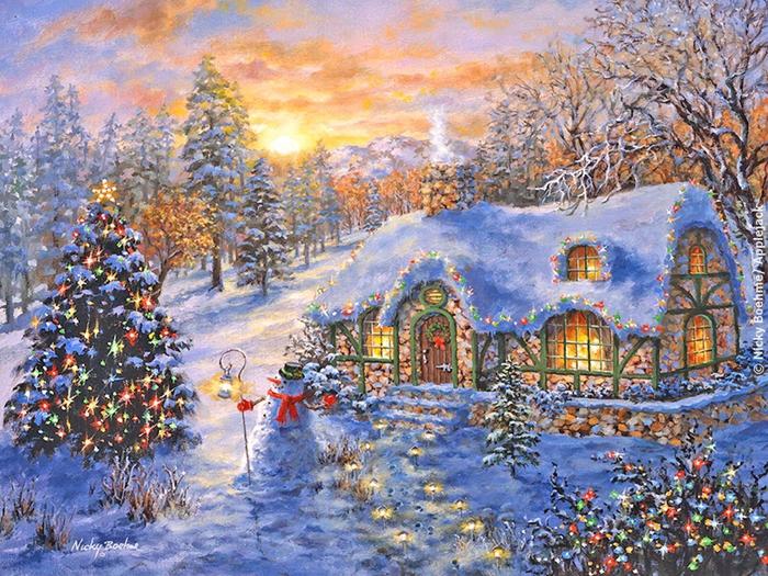Рождественские картинки Nicky Boehme