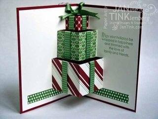 скачать поделку открытку рождества