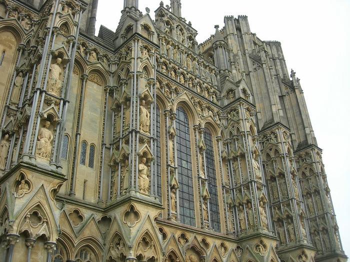 """Собор в Уэльсе - """"самый поэтический из английских Соборов""""- часть 1. 89814"""