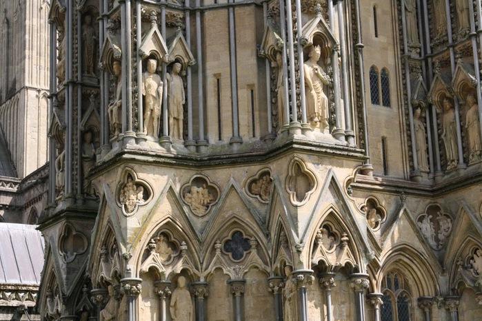 """Собор в Уэльсе - """"самый поэтический из английских Соборов""""- часть 1. 84085"""