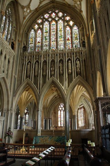 """Собор в Уэльсе - """"самый поэтический из английских Соборов""""- часть 1. 95191"""