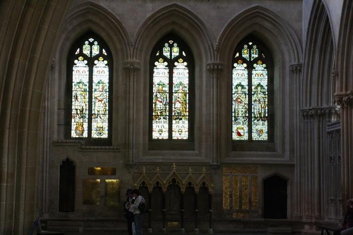 """Собор в Уэльсе - """"самый поэтический из английских Соборов""""- часть 1. 57699"""