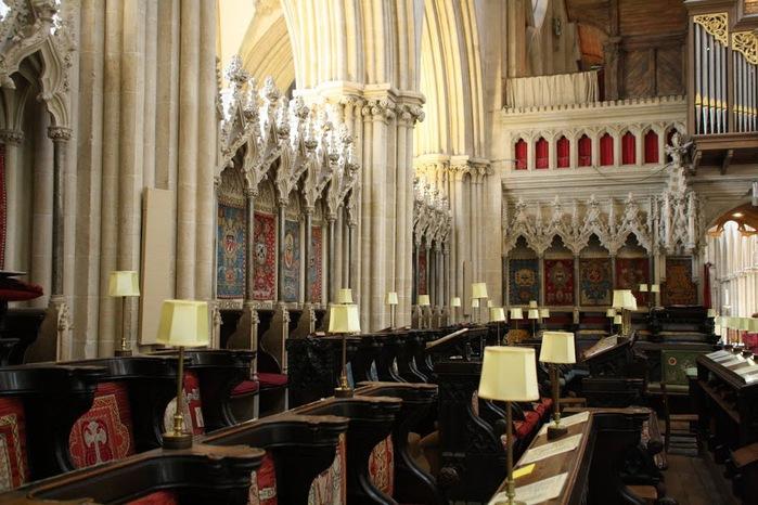 """Собор в Уэльсе - """"самый поэтический из английских Соборов""""- часть 1. 35004"""