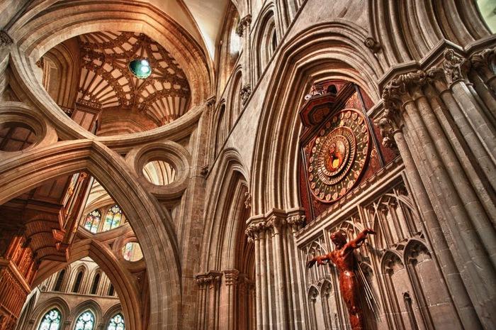 """Собор в Уэльсе - """"самый поэтический из английских Соборов""""- часть 1. 41564"""