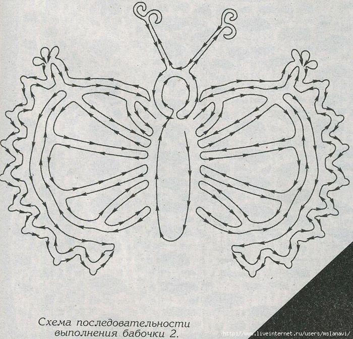爱尔兰花边:蝴蝶 7 - maomao - 我随心动