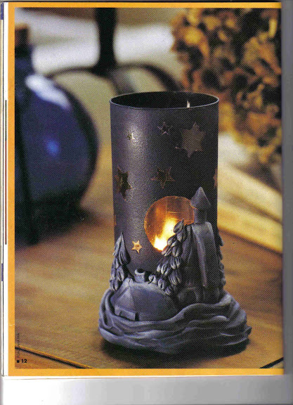 Подсвечники из холодного фарфора