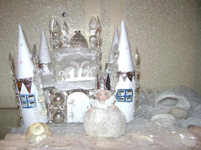 Замок для снежной королевы своими руками 41