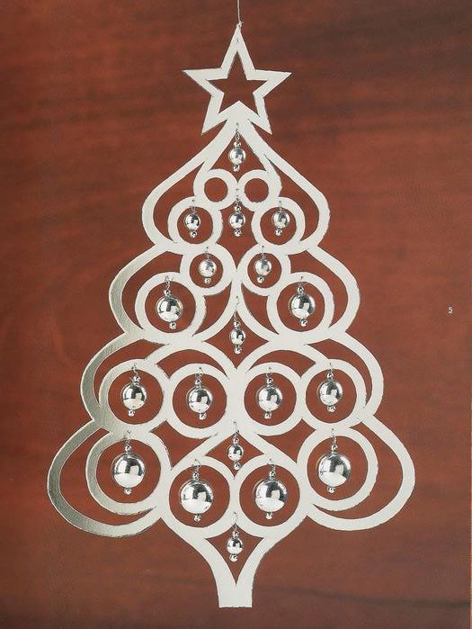 Рождественские украшения из