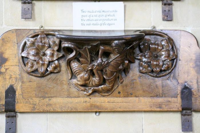 """Собор в Уэльсе - """"самый поэтический из английских Соборов""""- часть 1. 88130"""