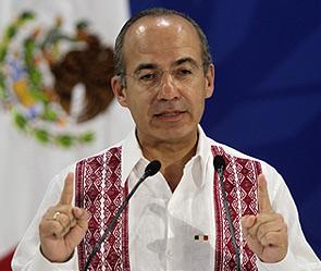 Президент Мексики Ф.Кальдерон (295x249, 34Kb)