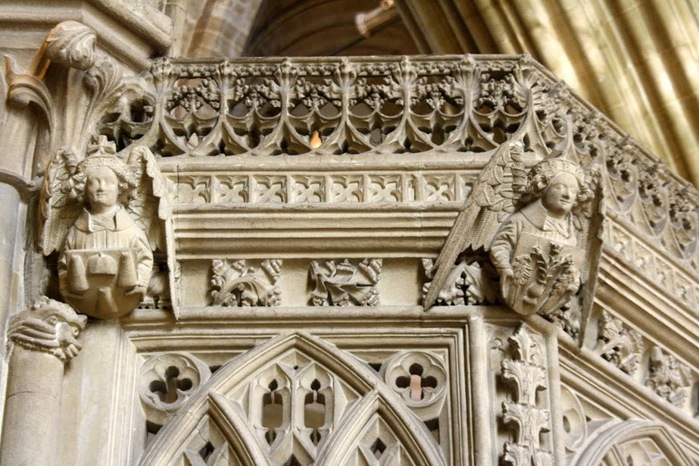 """Собор в Уэльсе - """"самый поэтический из английских Соборов""""- часть 1. 59210"""