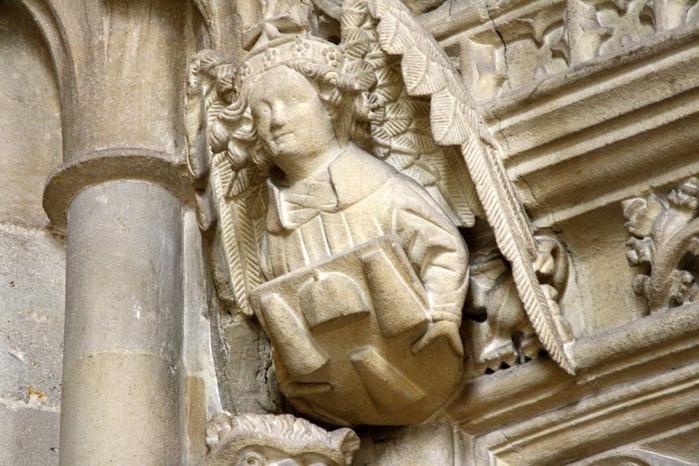 """Собор в Уэльсе - """"самый поэтический из английских Соборов""""- часть 1. 97350"""