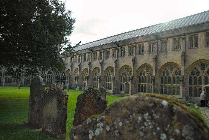 """Собор в Уэльсе - """"самый поэтический из английских Соборов""""- часть 1. 45370"""